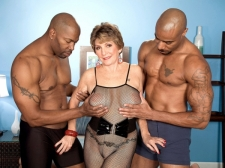 Bea's 1st Interracial Three-Way