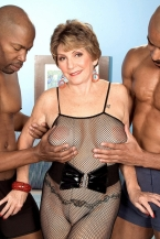 Two Large, Darksome Dicks For Bea Cummins!