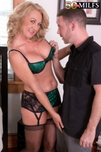 Cali comes to 50PlusMILFs.com and acquires her wazoo fucked