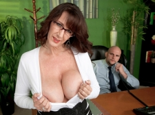 Fucking the humongous titted Mamma I'D LIKE TO FUCK who's wearing glasses