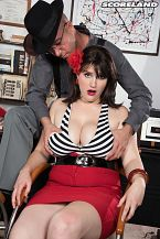 A Intimate Rod For A Big breasted Mobster's Moll