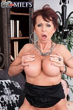 The 60-year-old super-hottie's first time