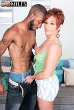 Young, darksome knob for HORNY HOUSEWIFE Ruby O'Connor